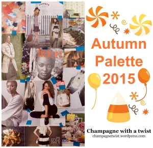 Autumn palette 2015 champagne with a twist