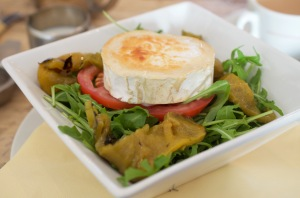 Warm Goats Cheese Salad