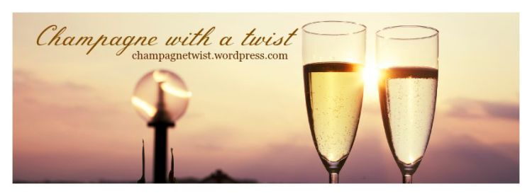 Champagne with a twist - banner