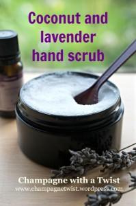 Pic coconut lavender hand scrub