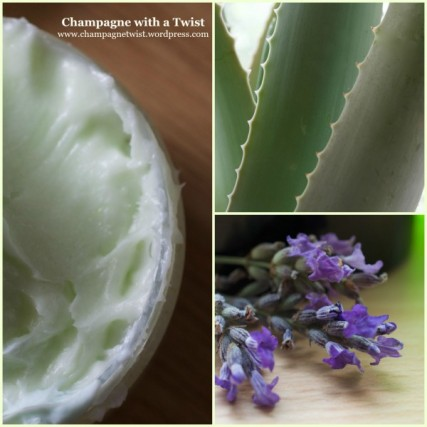aloe vera lavender body cream