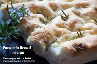 Focaccia Bread - recipe