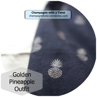 Golden Pineapple Outfit