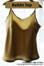 handmade camisole, free pattern