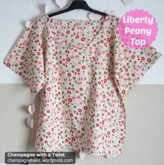 Liberty Peony Top