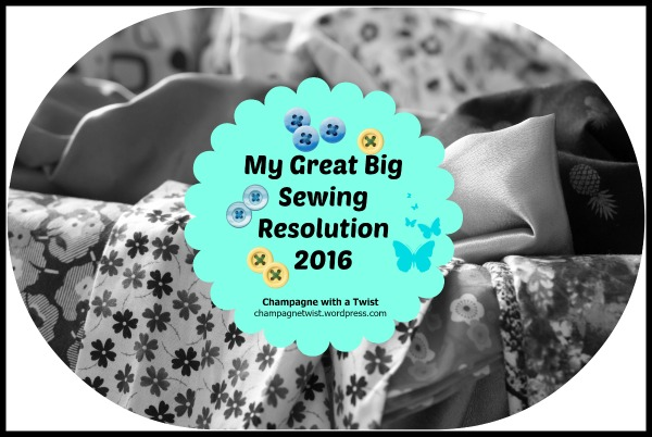 My Great Big Sewing Resolution – Birdie cami