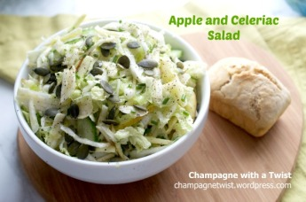 Coleslaw apple and celeriac