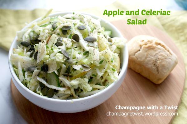 Coleslaw apple and celeriac