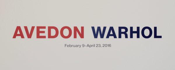 Avedon Warhol exhibition, Gagosian Gallery, Britannia Street, WC