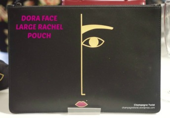 Dora Face Large Rachel Pouch, Lulu Guinness - Modern Day Icon Event