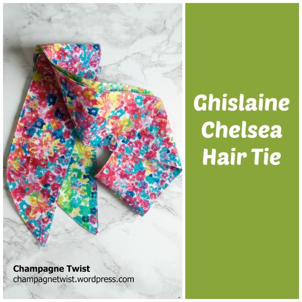Ghislaine Chelsea Hair Tie GBSB 1 hour sewing challenge