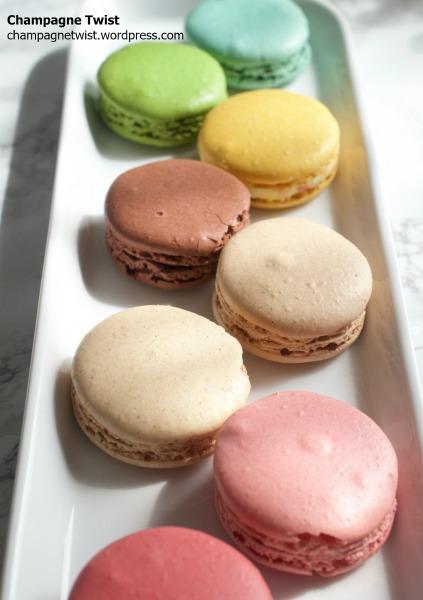 Champagne Twist - Laduree macarons