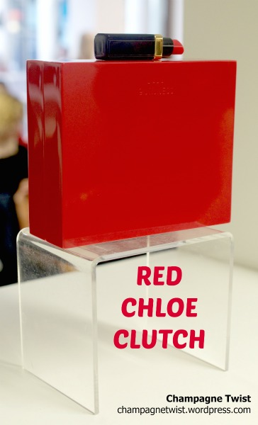 Red Chloe Clutch, Lulu Guinness, Modern Day Icons Event