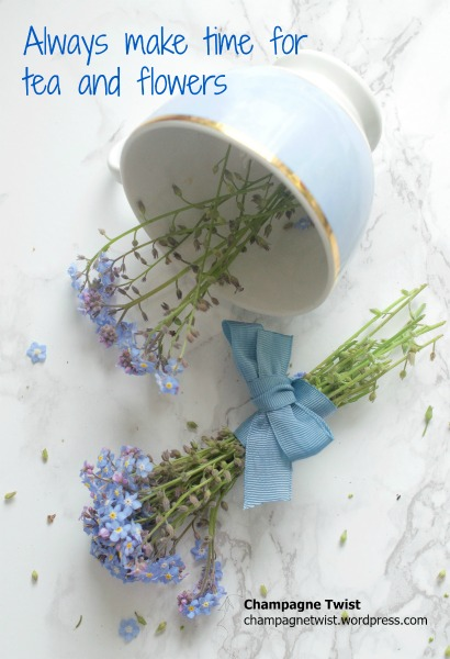 tea cup and forget me nots champagnetwist.wordpress.com