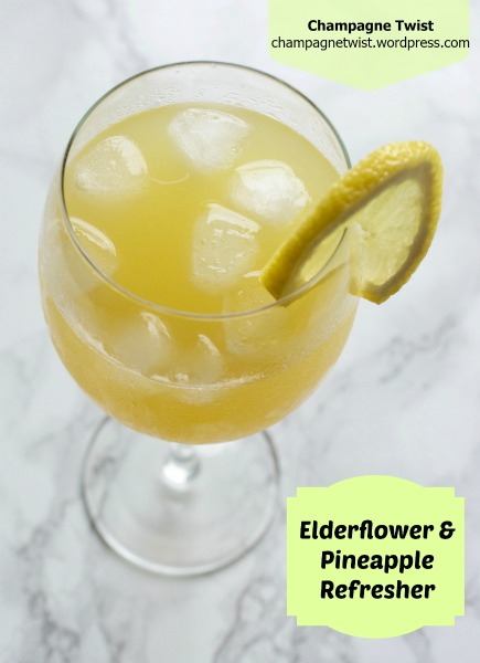Elderflower and Pineapple Refresher –recipe