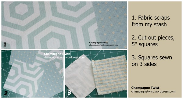 Sewing pattern weights construction summary