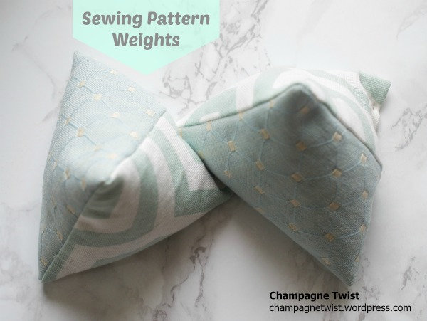 sewing weights champagne twist