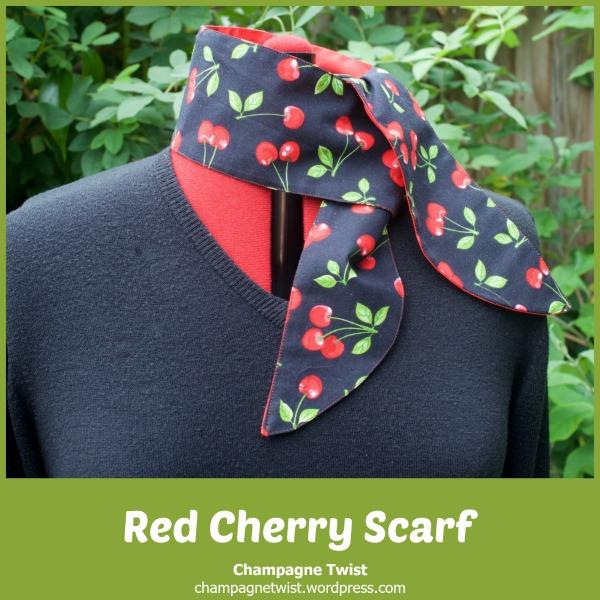 Cherry scarf
