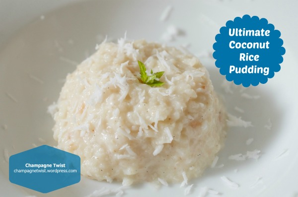 Ultimate Coconut Rice Pudding –recipe