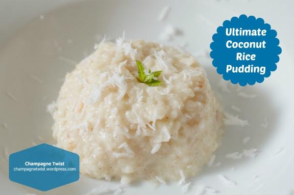 coconut rice pud