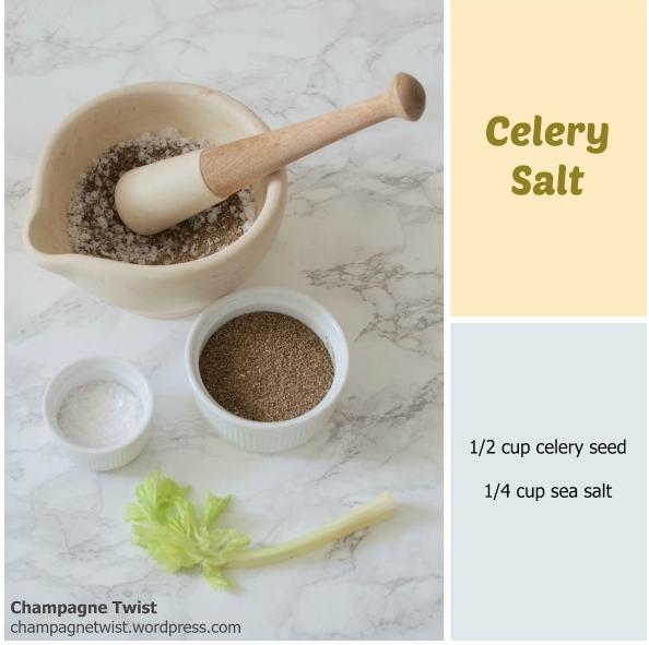 seasoning recipe - celery salt