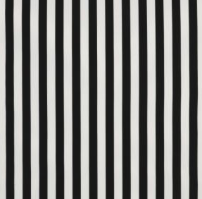 Sofia fabric, black and white stripe