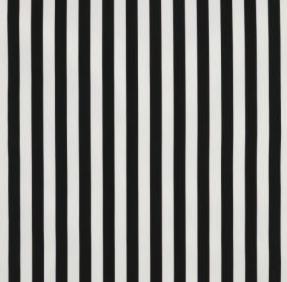 Sofia fabric, black and white stripe