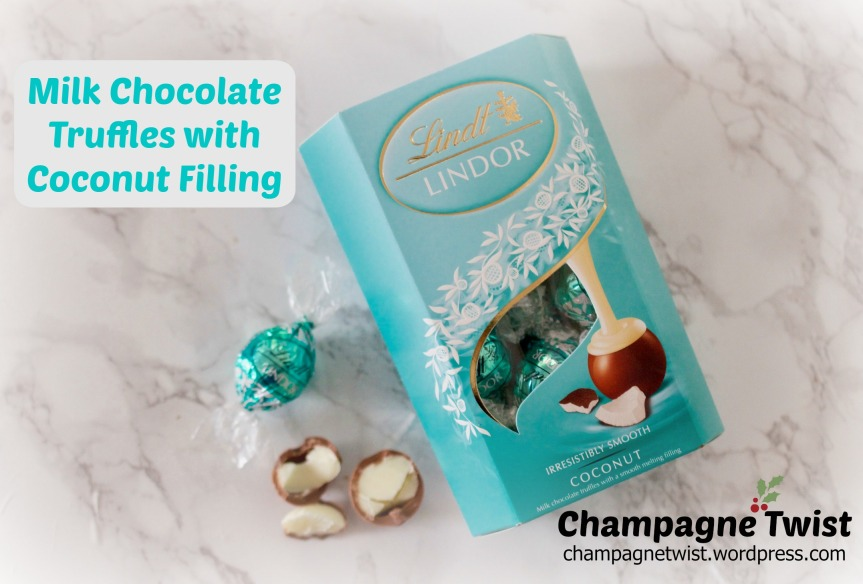 Lindt chocolate truffles with coconut review by champagnetwist.wordpress.com