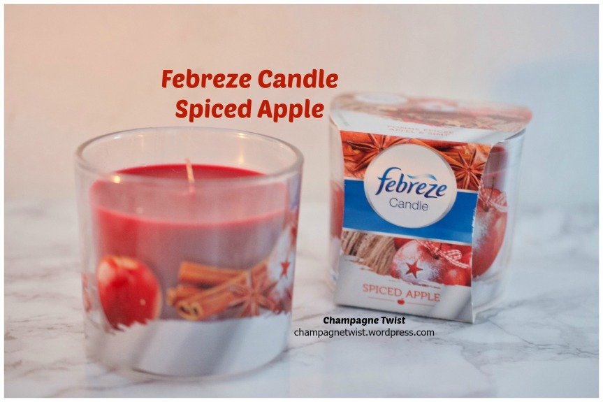 Febreze Odour Eliminating Scented Candle, Spiced Apple – Review