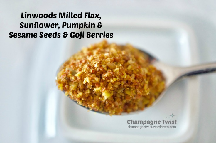 Vegan Life Live: Linwoods milled flax, sunflower, pumpkin & sesame seeds and goji berries