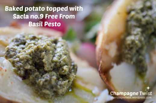 Sacla no 9 free from basil pesto