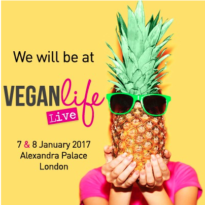 I'm going to Vegan Life Live, are you?