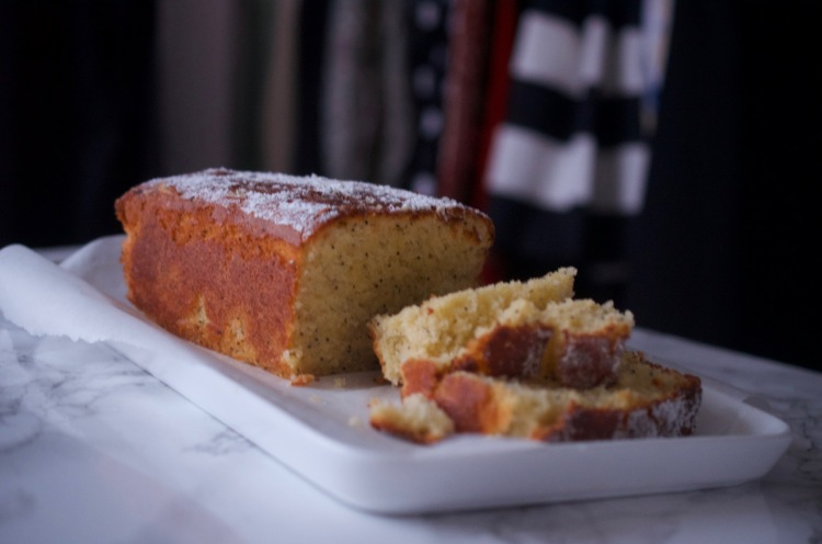 Bergamot Lemon & Poppy Seed Loaf