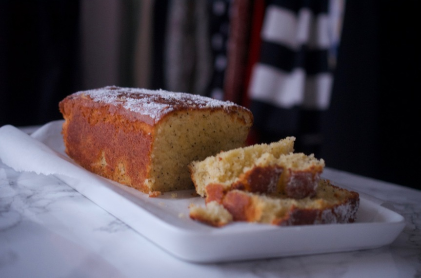 Bergamot Lemon and Poppy Seed Loaf