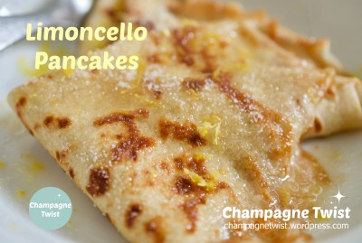 limoncello pancakes recipe | champagne twist