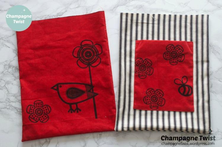 Clothkits bag and purse set | Champagne Twist - champagnetwist.wordpress.com