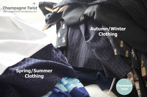 Spring clean your wardrobe weekend | Champagne Twist - champagnetwist.wordpress.com