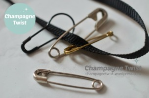 safety pins | champagne twist - champagnetwist.wordpress.com