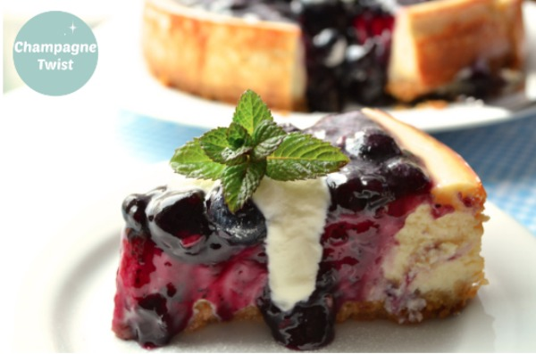 Blueberry and Lavender Cheesecake – recipe