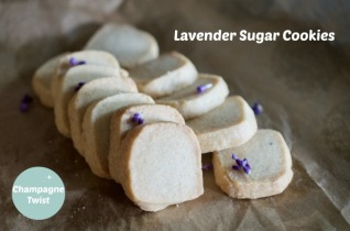 Lavender Sugar Cookie recipe