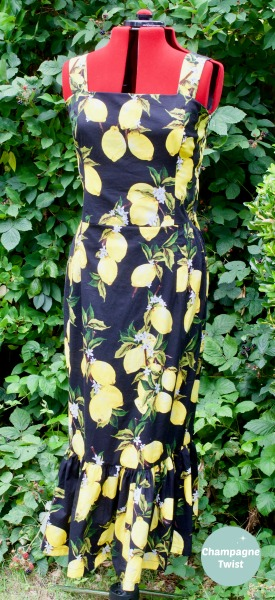 The Lemon Grove Dress by Champagne Twist