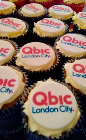 cup cakes, qbic, London, Aldgate, East London