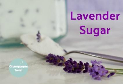 Lavender sugar recipe for baking