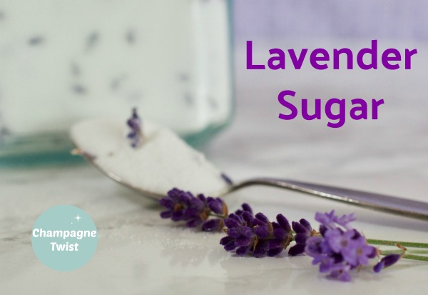 Lavender sugar recipe for baking