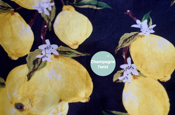 lemon fabric