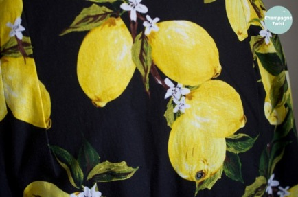 lemon grove dress by Champagne Twist