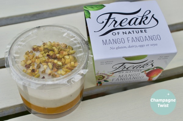 Freaks of Nature Mango Fandango - mango and passion fruit puree vanilla posse
