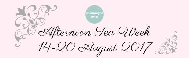 afternoon tea week banner