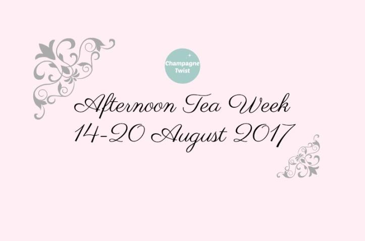Afternoon Tea Week 14-20 August 2017