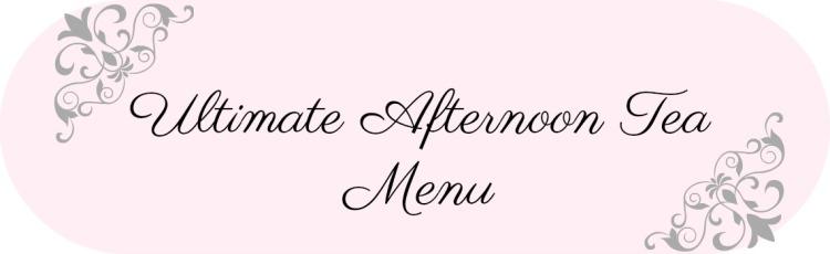 tea menu banner